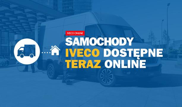 Samochody IVECO dostępne teraz ON-LINE